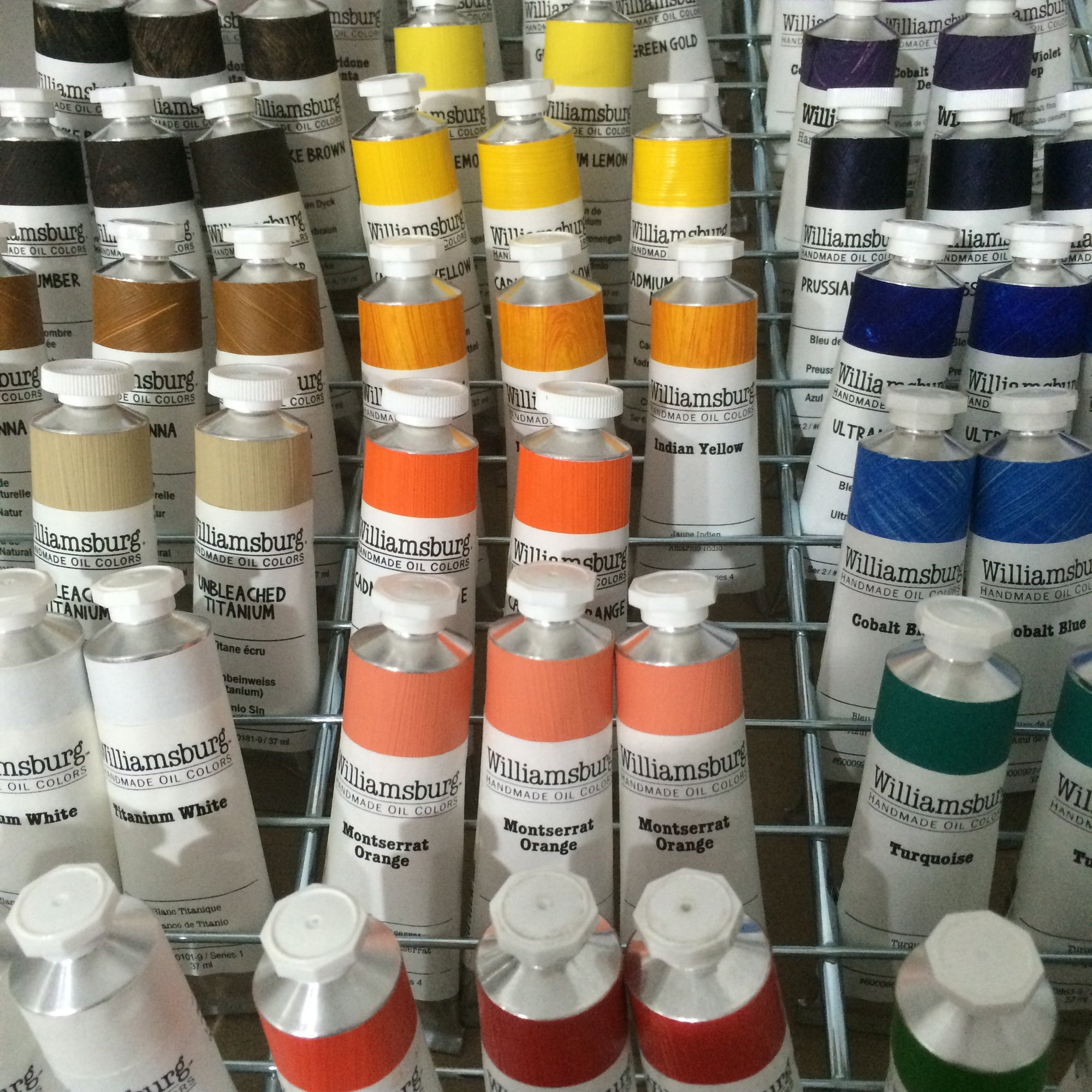 Williamsburg Handmade Oil Paints - 37ml tubes
