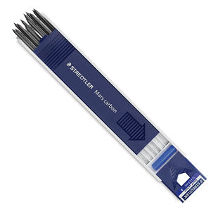 Staedtler Mars Lumograph Carbon Leads - 2mm - by Staedtler - K. A. Artist Shop
