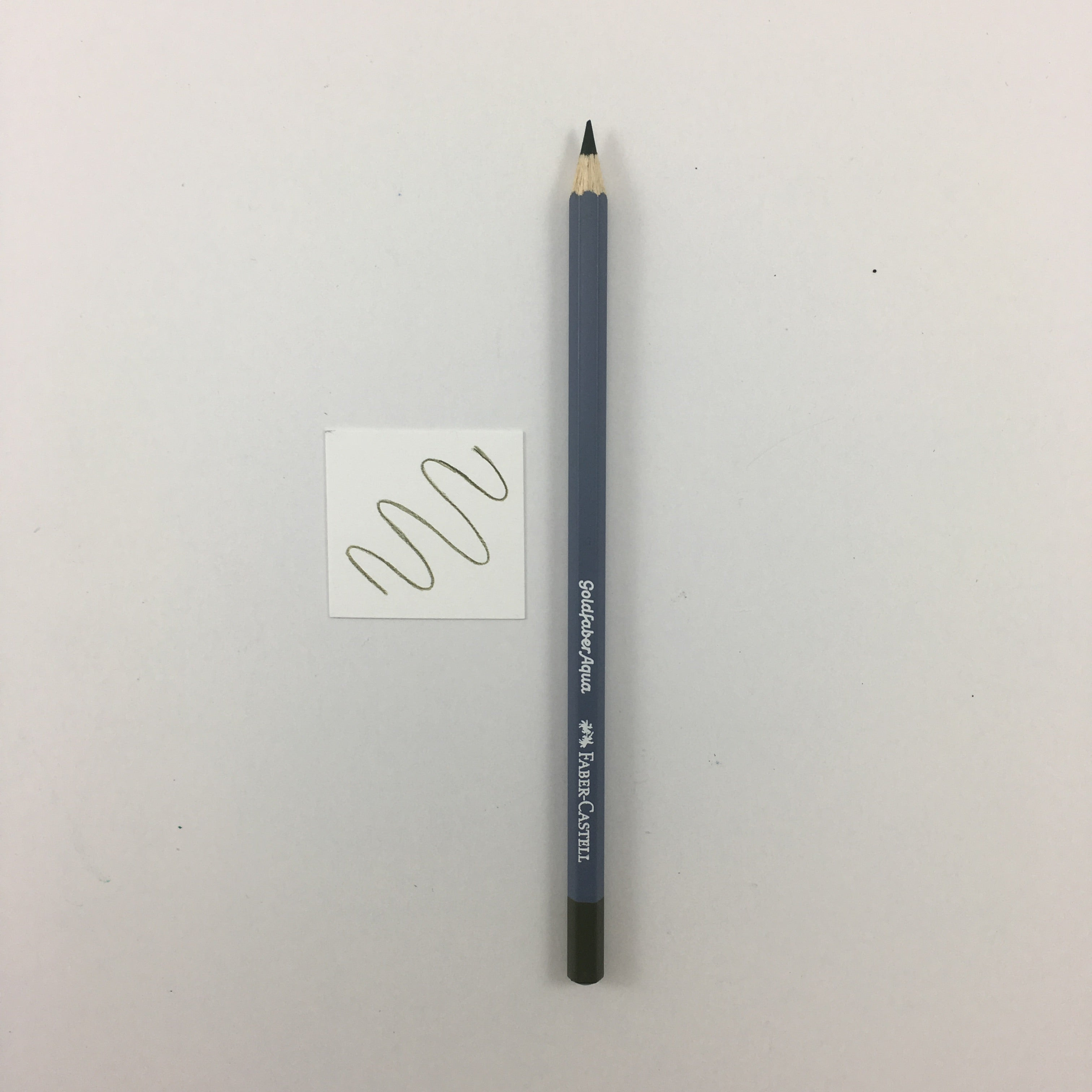 Faber-Castell Goldfaber Aqua Watercolor Pencils - Individuals - 173 - Olive Green Yellowish by Faber-Castell - K. A. Artist Shop
