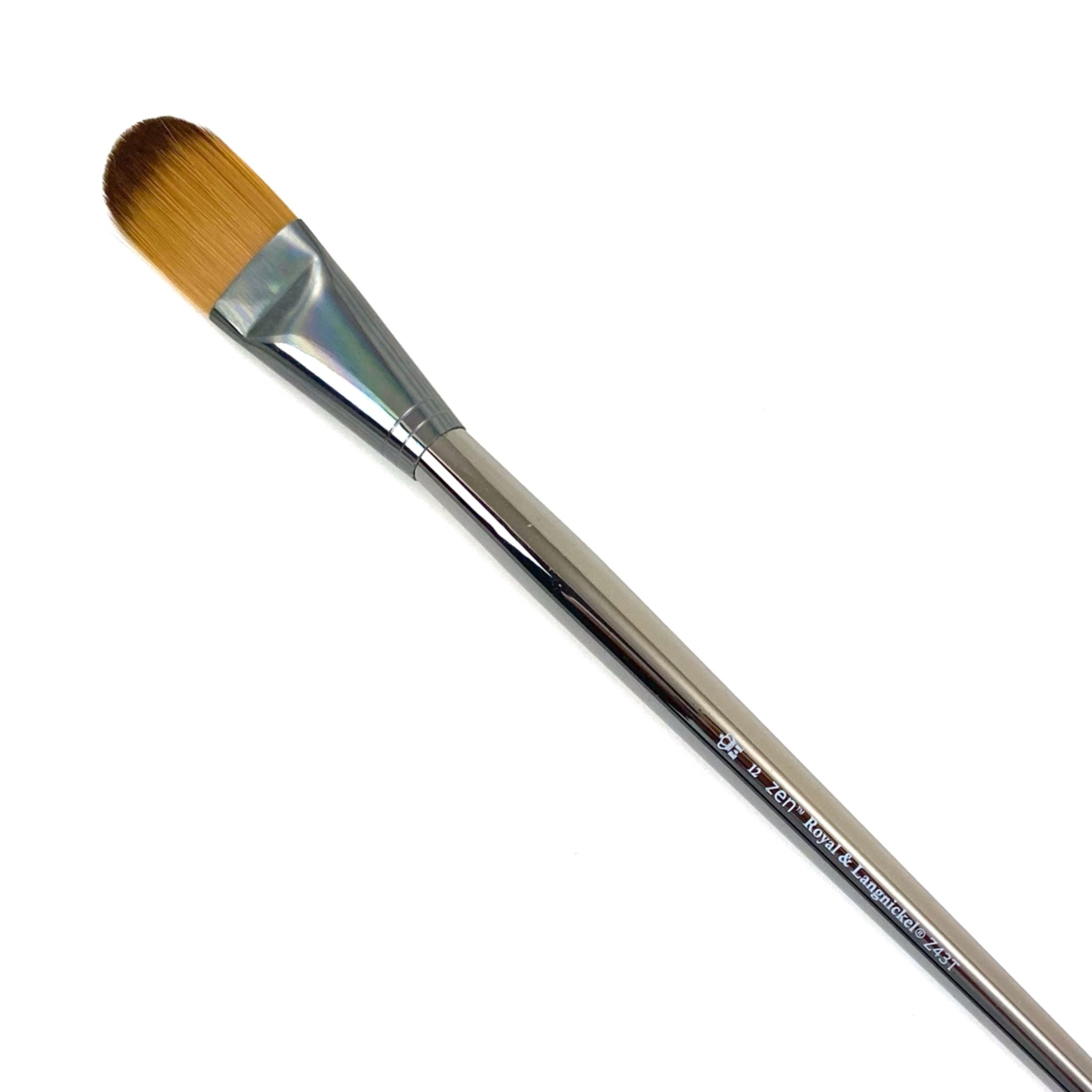 Royal & Langnickle Zen Long Handle Brushes - 43 Series - Filbert / 12 by Royal & Langnickle - K. A. Artist Shop