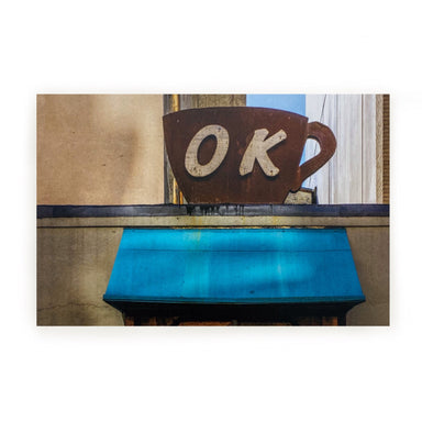 Athens, GA Postcards by Frances Berry - OK Coffee - by Frances Berry - K. A. Artist Shop