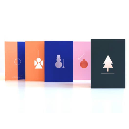 Christmas Fold Out Cards by Darling Clementine