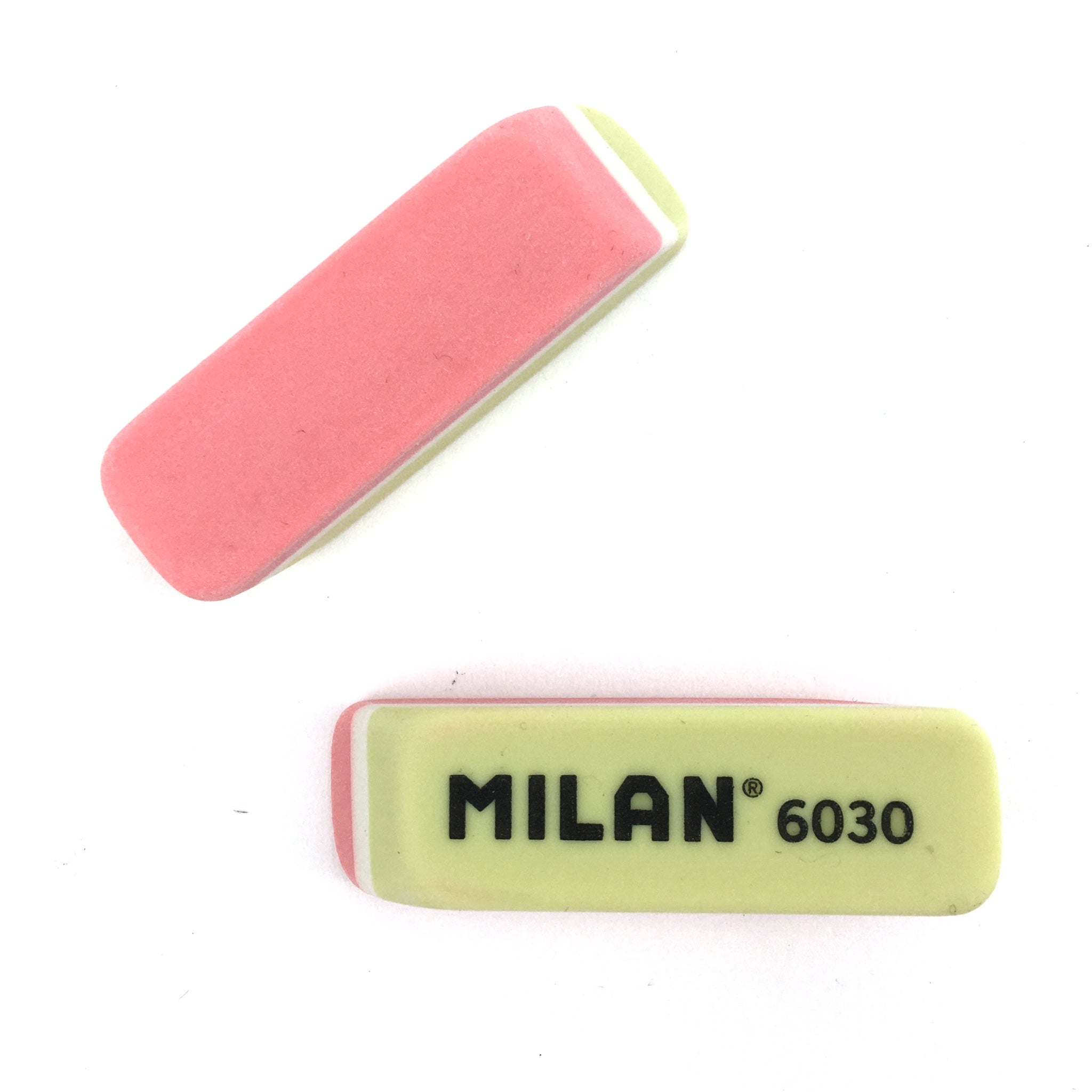 Milan Plastic Eraser - Yellow and Red by Milan - K. A. Artist Shop