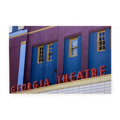 Athens, GA Postcards by Frances Berry - Georgia Theatre - by Frances Berry - K. A. Artist Shop