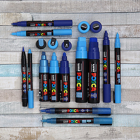 POSCA Acrylic Paint Markers - PC-3M 0.9-1.3mm Bullet Tip