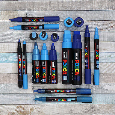 POSCA Acrylic Paint Markers - PC-3M 0.9-1.3mm Bullet Tip - by POSCA - K. A. Artist Shop