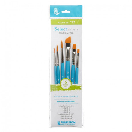 Princeton Select Artiste Mixed Media Paintbrush Sets
