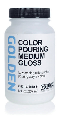 Golden Color Pouring Medium - Gloss / 32 oz by Golden - K. A. Artist Shop