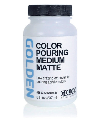 Golden Color Pouring Medium - Matte / 32 oz by Golden - K. A. Artist Shop