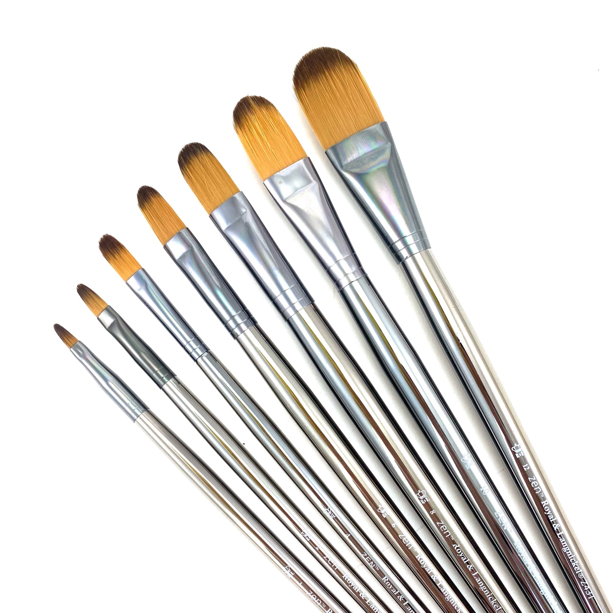Royal & Langnickle Zen Long Handle Brushes - 43 Series - by Royal & Langnickle - K. A. Artist Shop