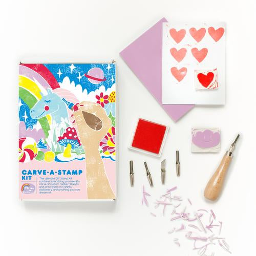Carve-A-Stamp Kit by Yellow Owl Workshop - by Yellow Owl Workshop - K. A. Artist Shop