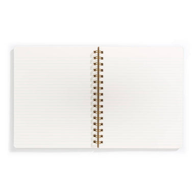 Left Handed Standard Notebook by Iron Curtain Press - by Iron Curtain Press - K. A. Artist Shop