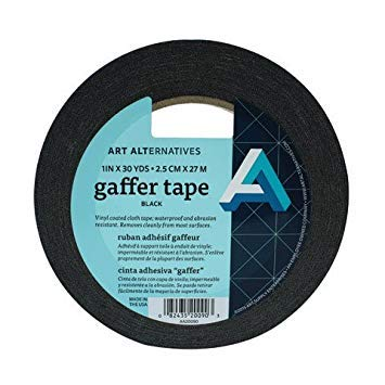 "Art Alternatives Gaffer Tape - 1"" x 30 yds"