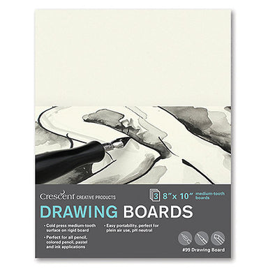 Crescent Cold-Pressed Drawing Board - 3 Packs - by Crescent - K. A. Artist Shop