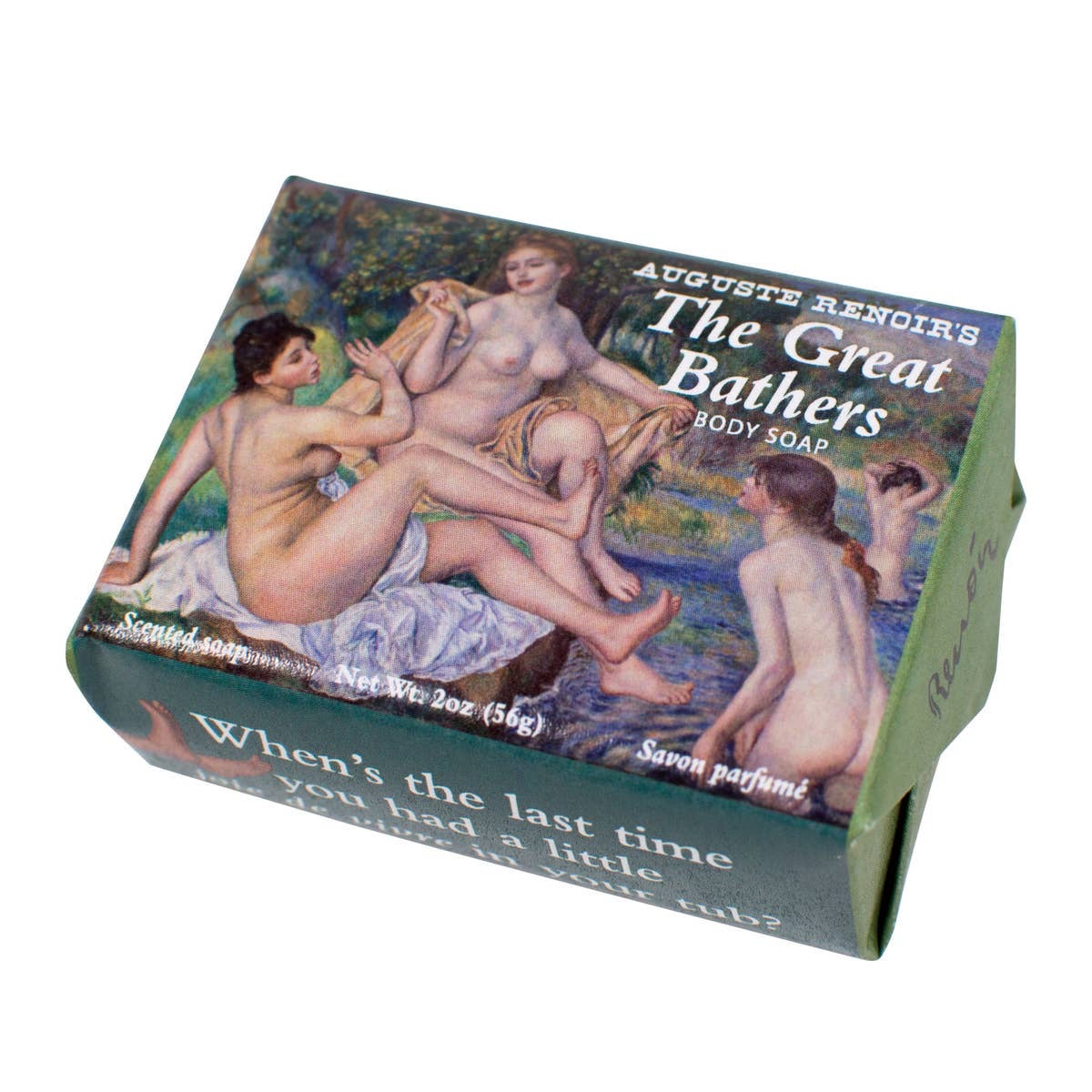 Renoir's Great Bathers Soap - by Unemployed Philosophers Guild - K. A. Artist Shop