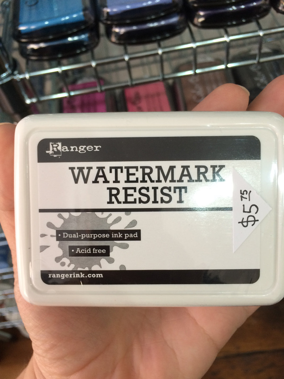 Ranger Watermark Resist Stamp Pad