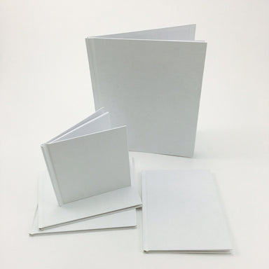 Blank White Book - by Bare Books - K. A. Artist Shop