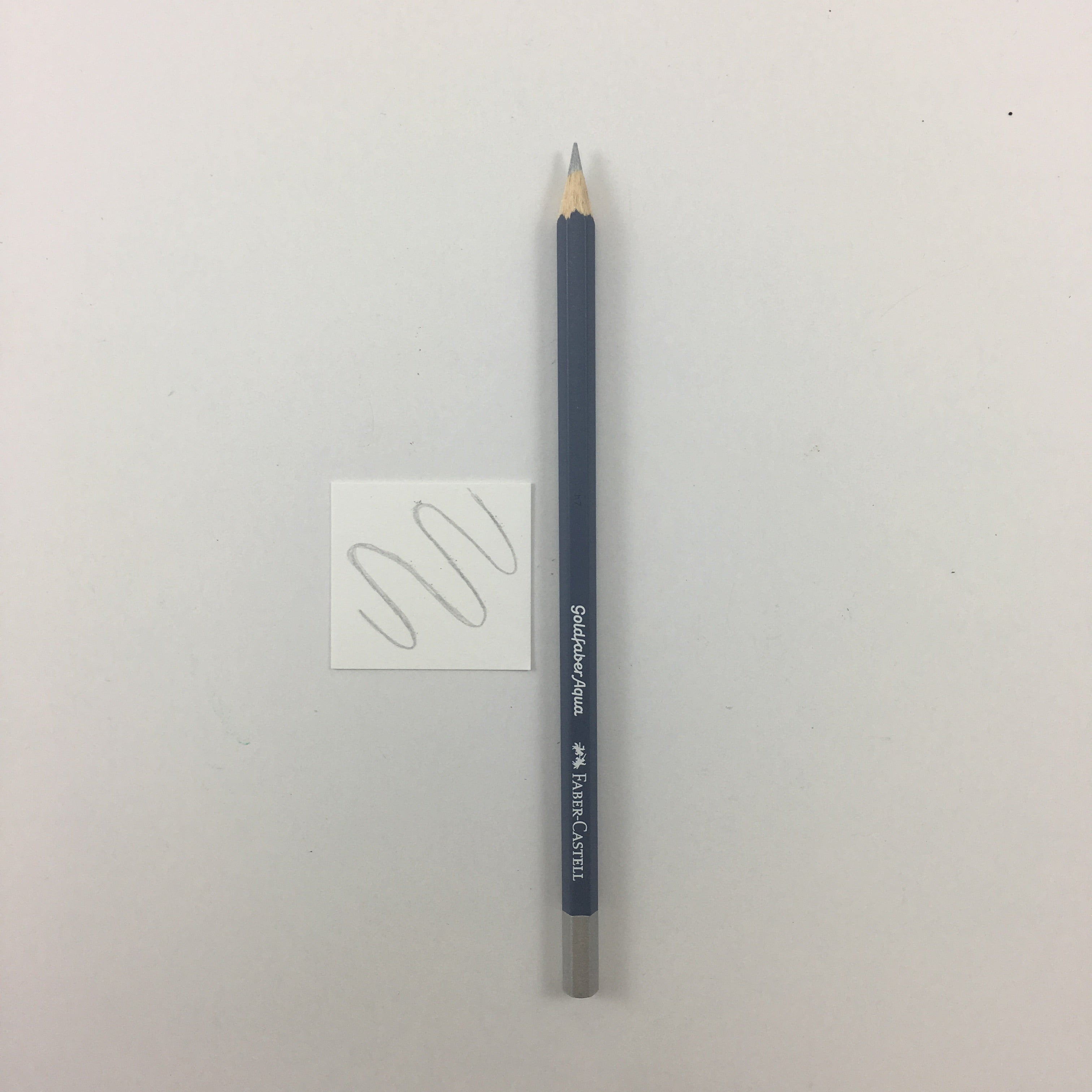 Faber-Castell Goldfaber Aqua Watercolor Pencils - Individuals - 251 - Silver by Faber-Castell - K. A. Artist Shop