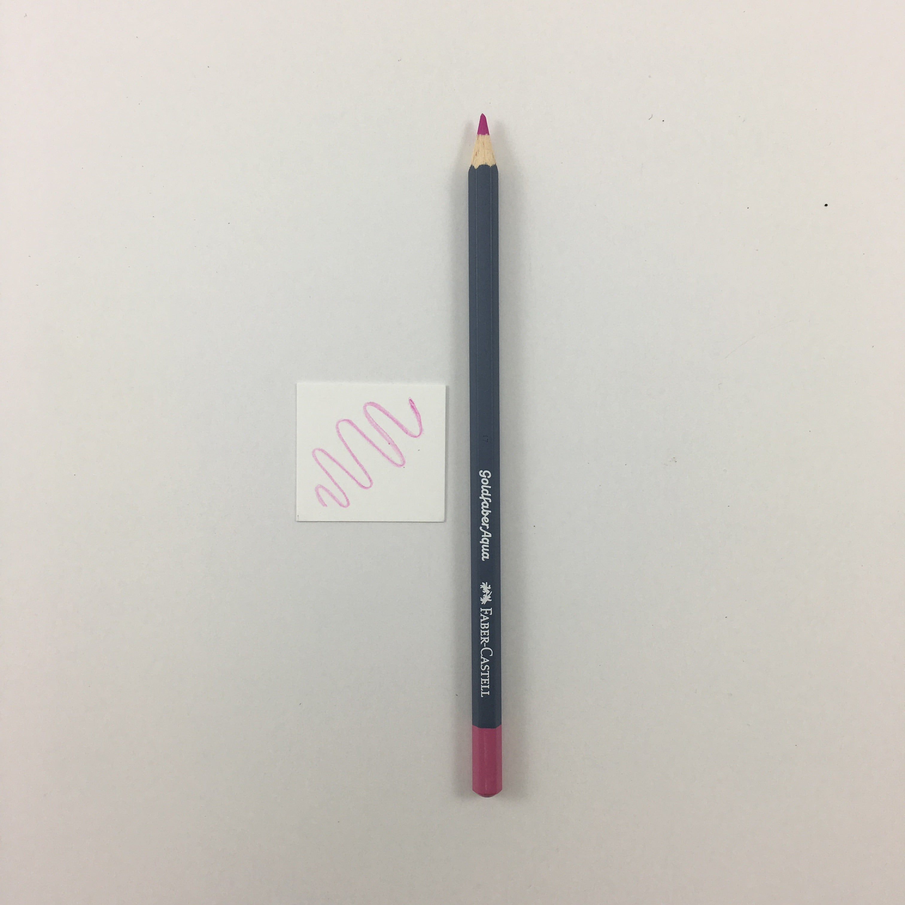 Faber-Castell Goldfaber Aqua Watercolor Pencils - Individuals - 119 - Light Magenta by Faber-Castell - K. A. Artist Shop