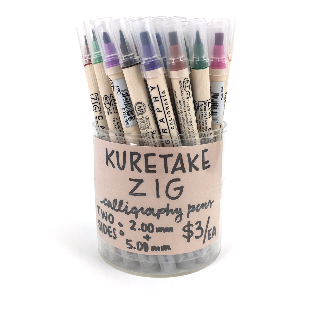Kuretake Zig Calligraphy Double-Sided Markers - Matte