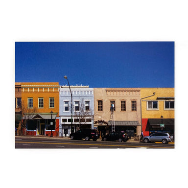 Athens, GA Postcards by Frances Berry - Broad Street - by Frances Berry - K. A. Artist Shop