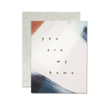 """You Are My Home"" Card by Moglea - by Moglea - K. A. Artist Shop"