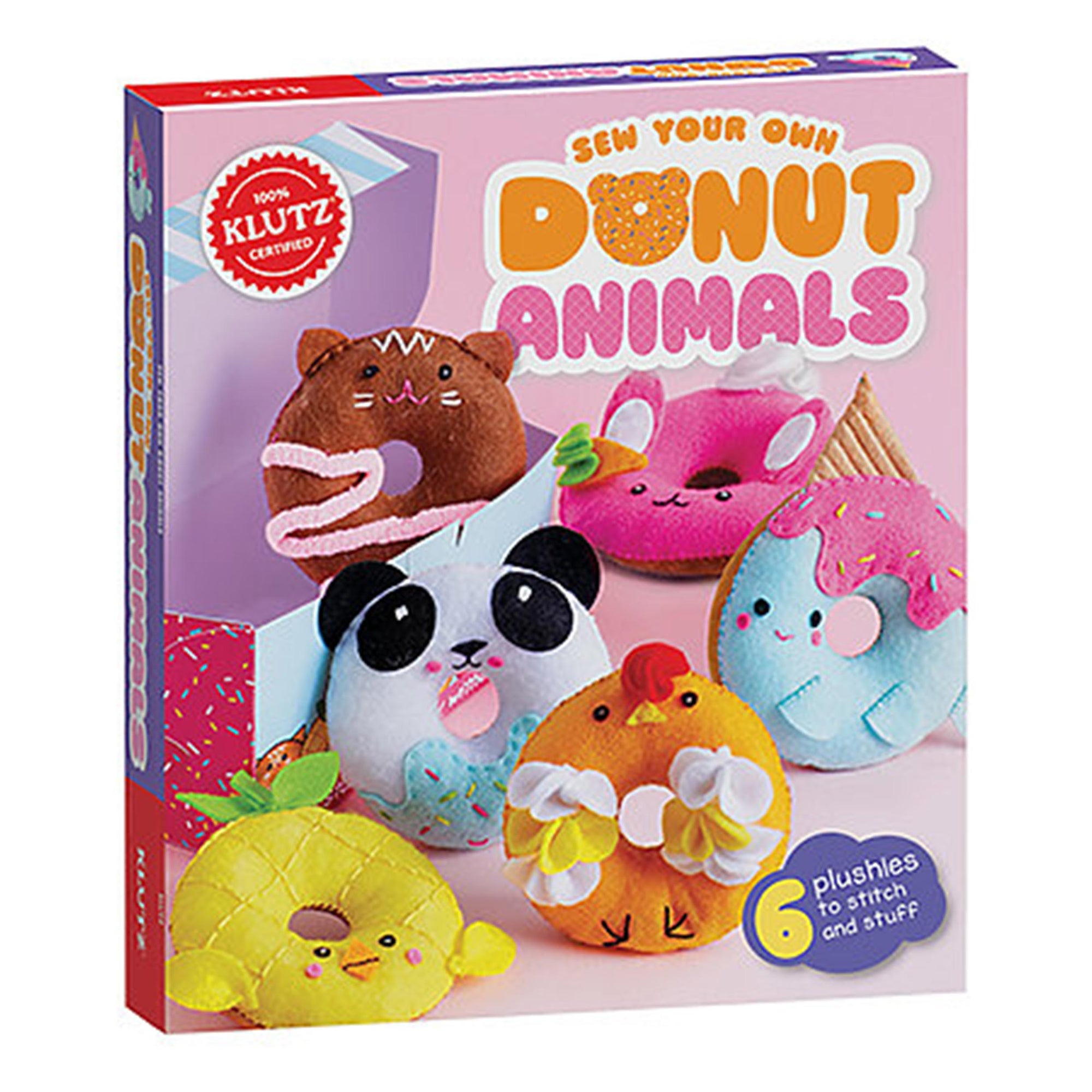 Sew Your Own Donut Animals Kit