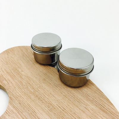 Art Alternatives Twin Palette Cups (Stainless Steel)
