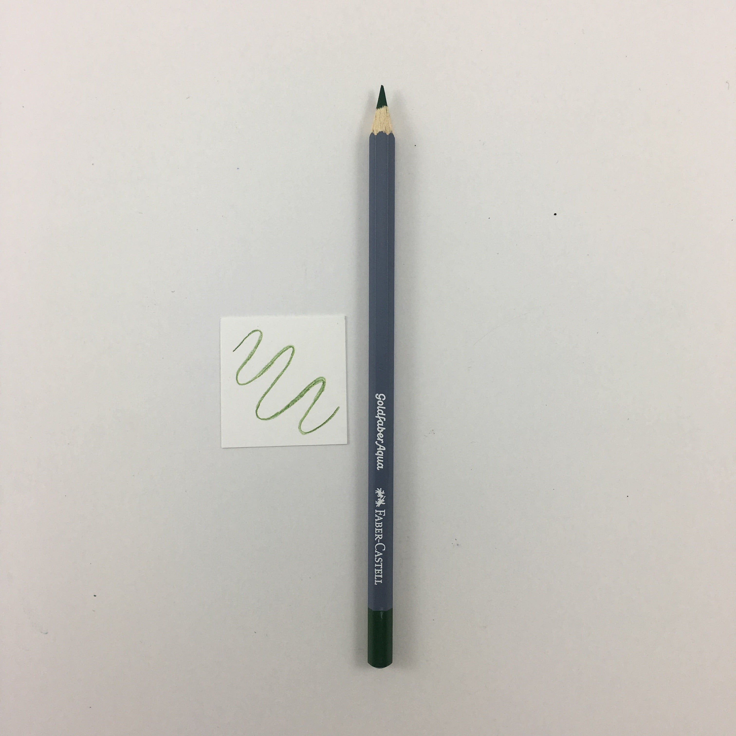 Faber-Castell Goldfaber Aqua Watercolor Pencils - Individuals - 167 - Permanent Green Olive by Faber-Castell - K. A. Artist Shop