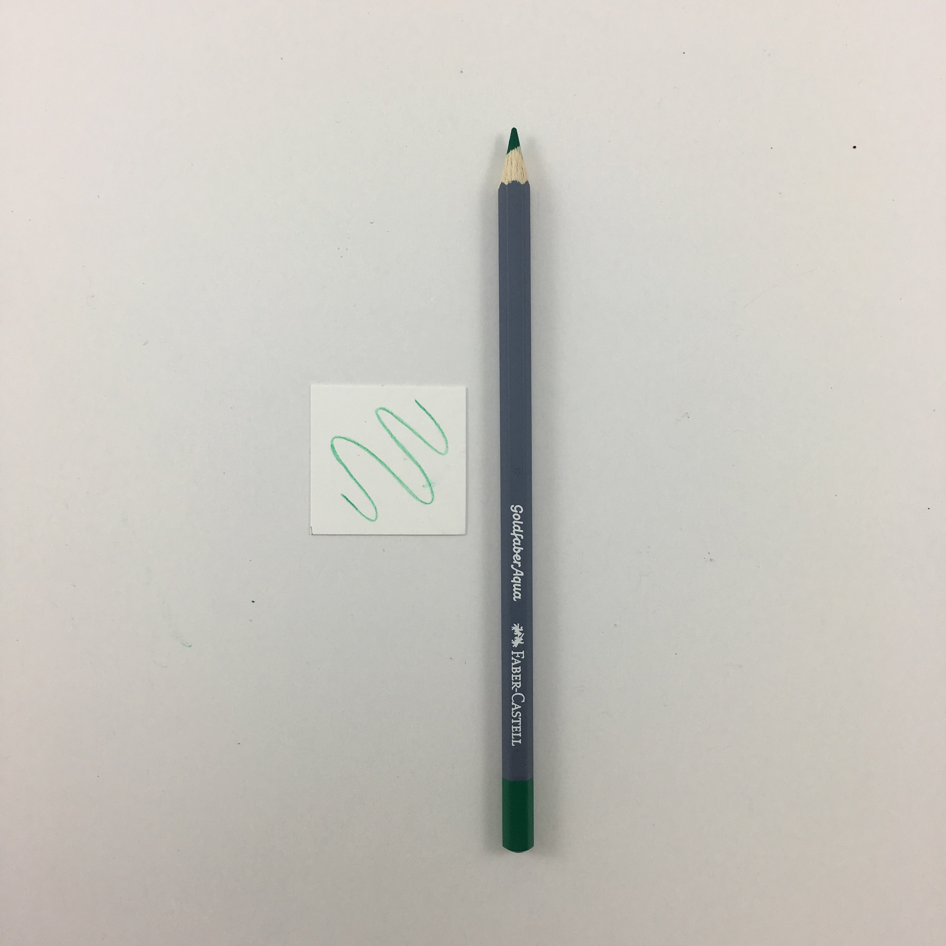 Faber-Castell Goldfaber Aqua Watercolor Pencils - Individuals - 163 - Emerald Green by Faber-Castell - K. A. Artist Shop