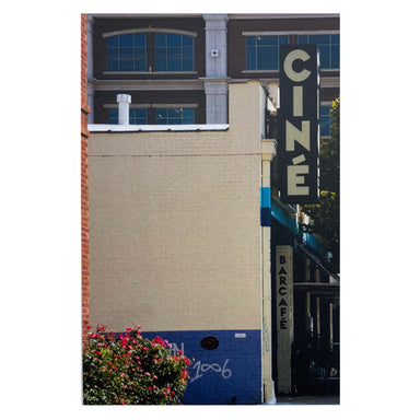 Athens, GA Postcards by Frances Berry - Ciné Barcafe - by Frances Berry - K. A. Artist Shop