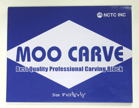 Moo Carving Block - 0.5 inch width