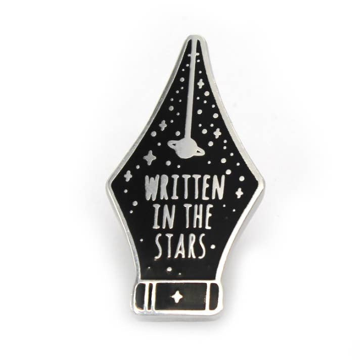 """Written in the Stars"" Enamel Pin"