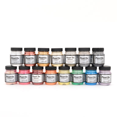 Jacquard PearlEx Powdered Pigments - 0.75 oz jars - by Jacquard - K. A. Artist Shop