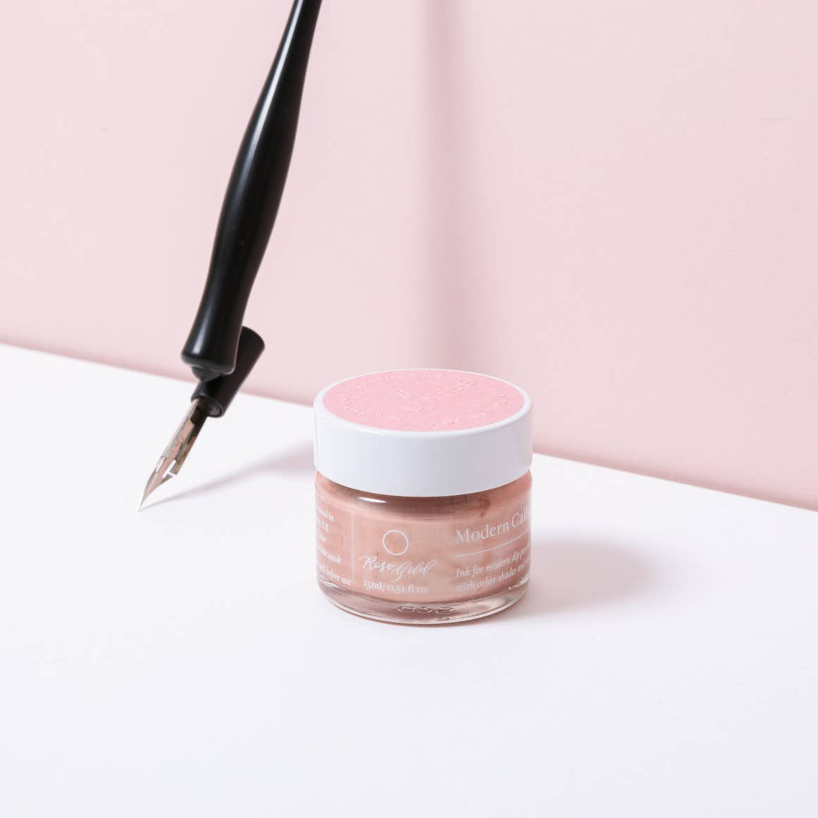 À L'aise Modern Calligraphy Ink - Rose Gold by À L'aise LTD - K. A. Artist Shop