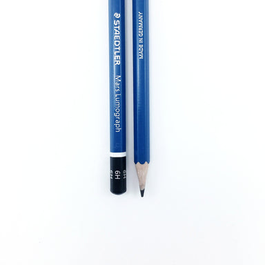 Staedtler Mars Lumograph Drawing Pencil - 6H by Staedtler - K. A. Artist Shop