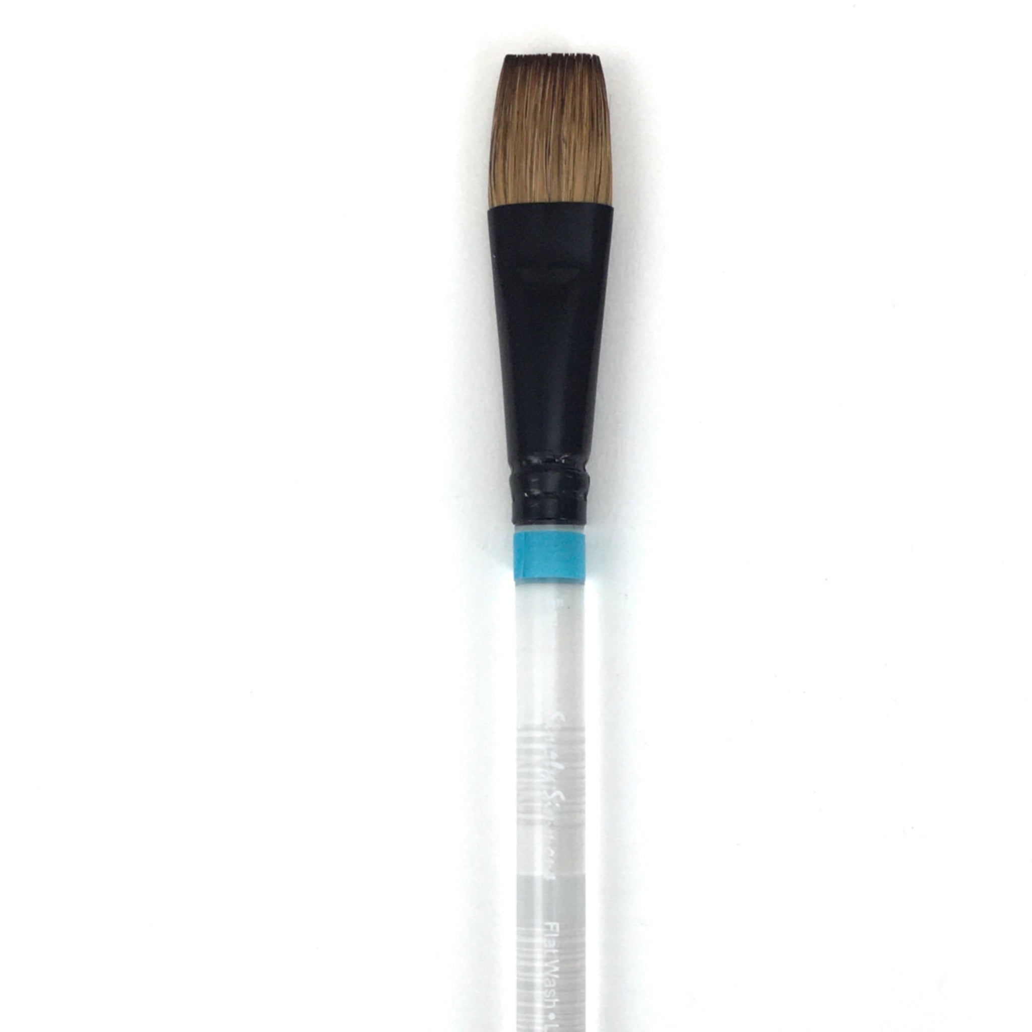 Robert Simmons Simply Simmons Watercolor Brush (Short Handle) - Flat Wash / - 3/4 inches / - natural by Robert Simmons - K. A. Artist Shop
