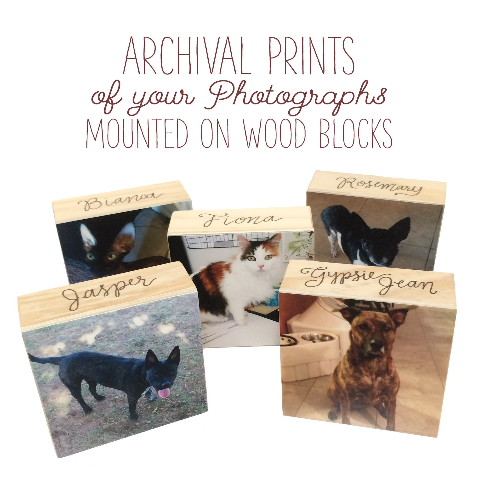 Your Print Mounted on a Wood Panel