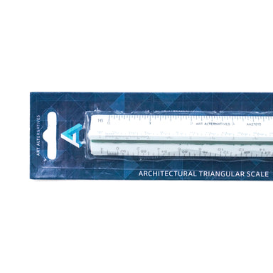Art Alternatives Plastic Triangular Scale - 12 inches - Architectural by Art Alternatives - K. A. Artist Shop