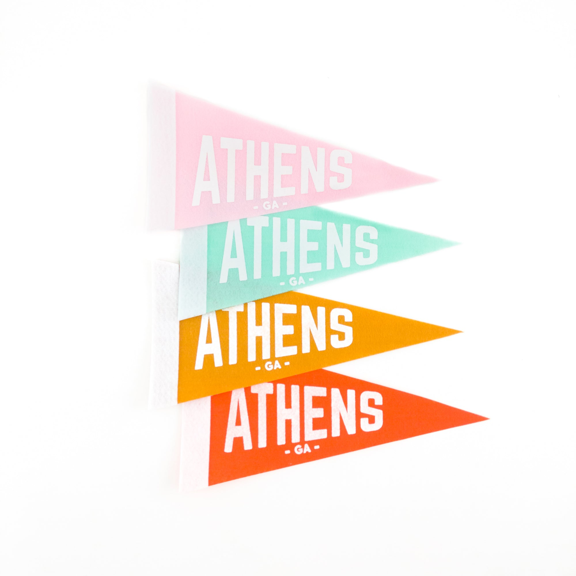 """Athens, GA"" Pennant by Classic City Postal Service"