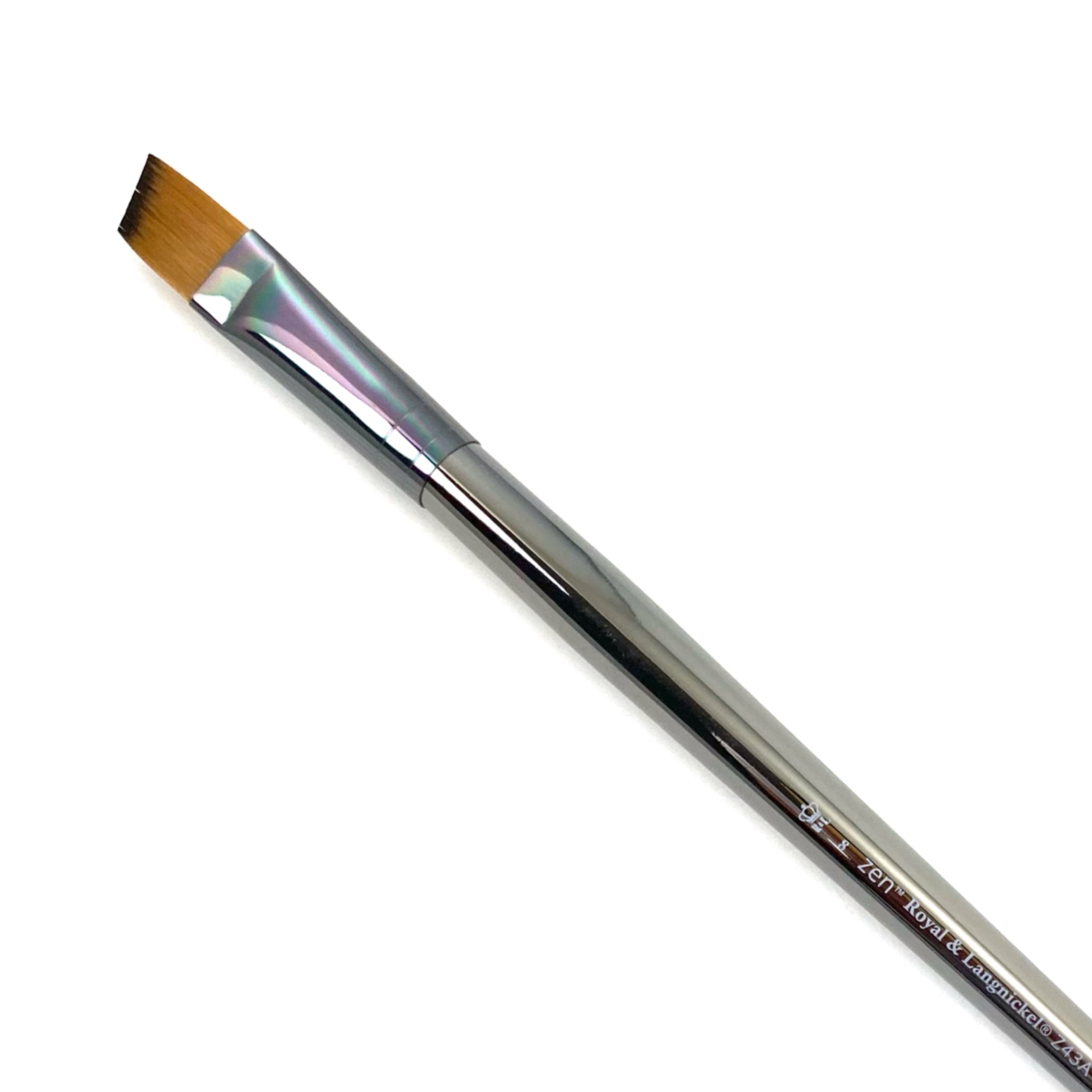 Royal & Langnickle Zen Long Handle Brushes - 43 Series - Angular / 8 by Royal & Langnickle - K. A. Artist Shop