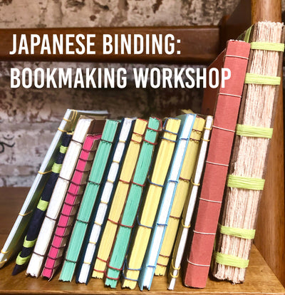 Japanese Binding - Bookmaking Workshop (online)