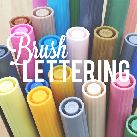Brush Lettering & Watercolor Calligraphy - with Kristen Ashley