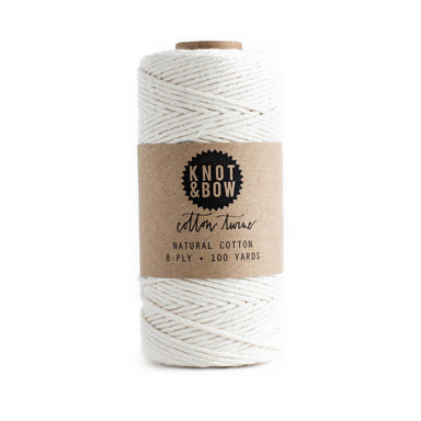 Cotton Twine by Knot & Bow - Natural Cotton by Knot & Bow - K. A. Artist Shop