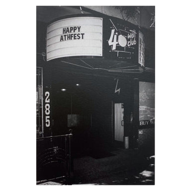 Athens, GA Postcards by Frances Berry - 40 Watt Club - by Frances Berry - K. A. Artist Shop