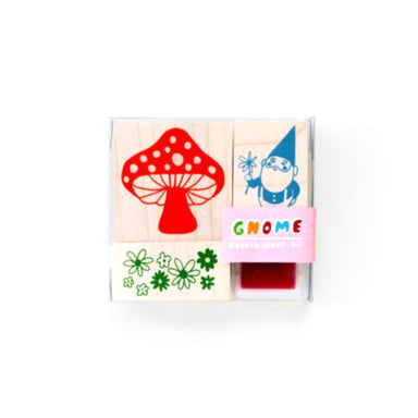 Gnome and Mushroom Stamp Kit by Yellow Owl Workshop - by Yellow Owl Workshop - K. A. Artist Shop