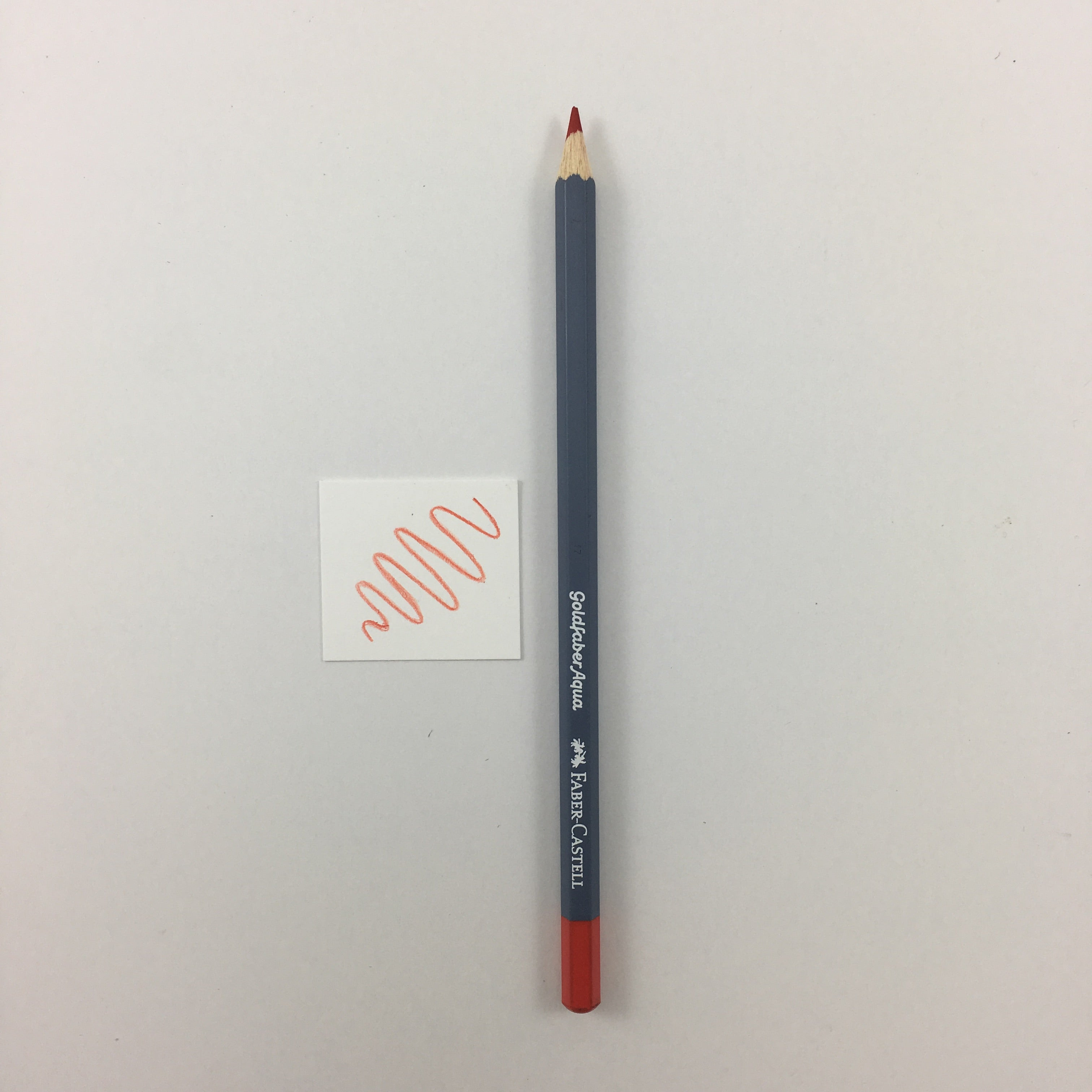 Faber-Castell Goldfaber Aqua Watercolor Pencils - Individuals - 118 - Scarlet Red by Faber-Castell - K. A. Artist Shop