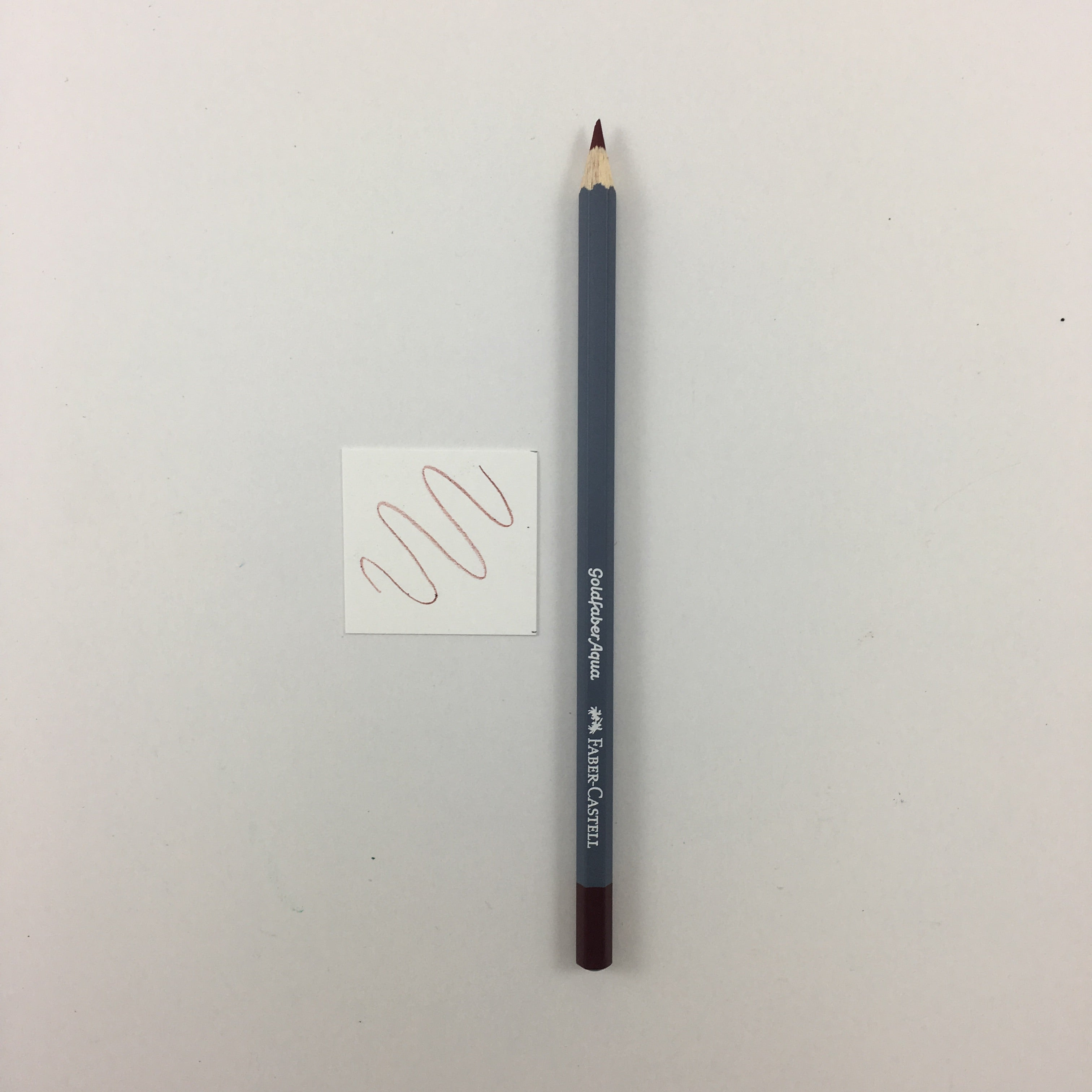 Faber-Castell Goldfaber Aqua Watercolor Pencils - Individuals - 192 - Indian Red by Faber-Castell - K. A. Artist Shop