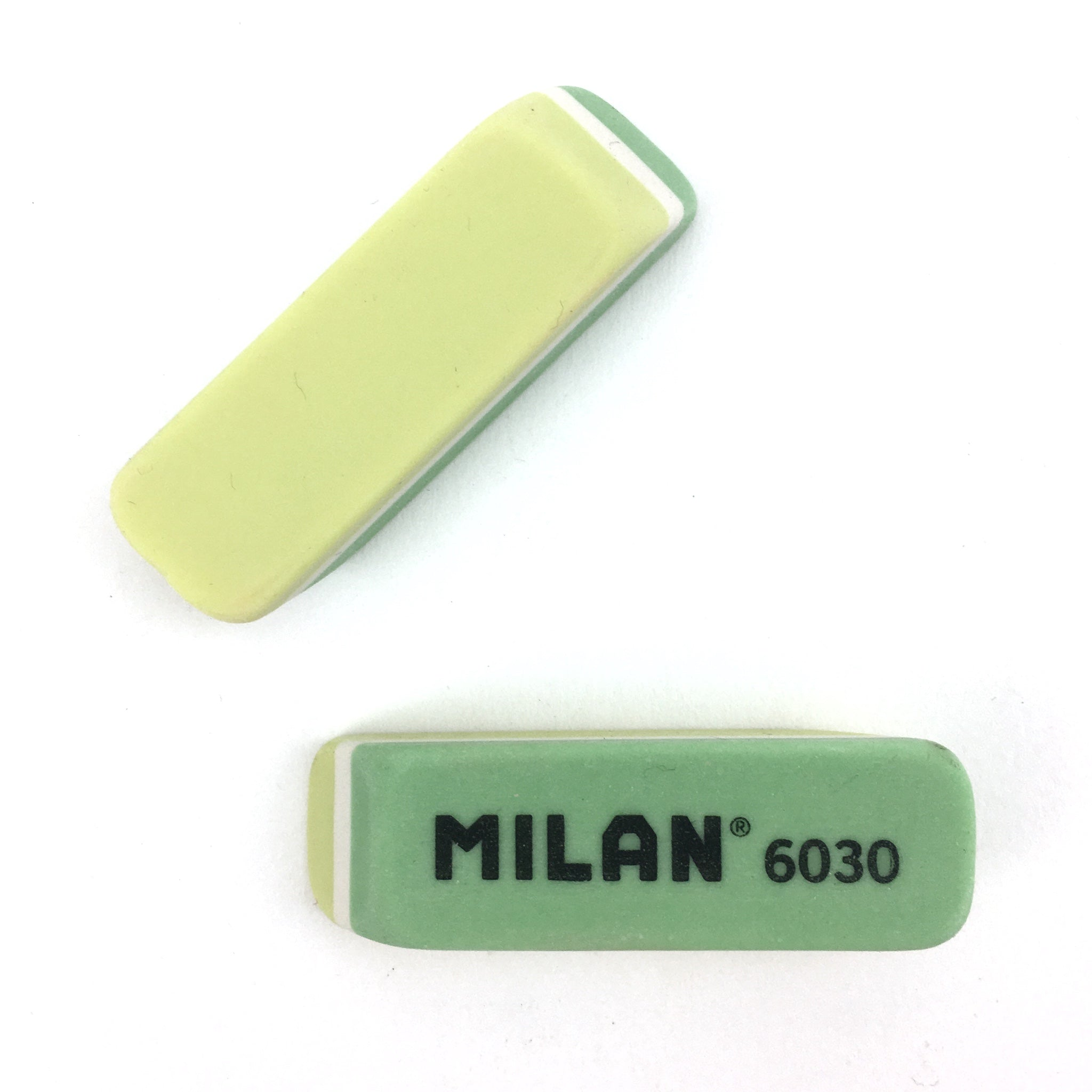 Milan Plastic Eraser - Green and Yellow by Milan - K. A. Artist Shop