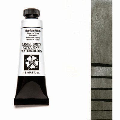 Daniel Smith Extra Fine Watercolors - 15ml / 5 fl. oz. - Titanium White by Daniel Smith - K. A. Artist Shop